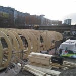 CCM RESITRIX® – House boat on the central canal in Hamburg - structure