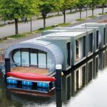 CCM RESITRIX® – House boat on the central canal in Hamburg