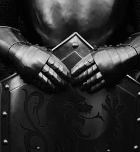 Armour of the medieval knight