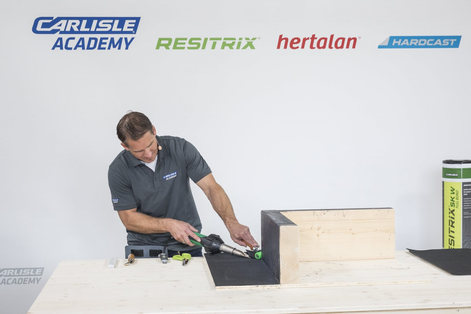 Further Your Roofing Skills With CARLISLE® ACADEMYu0027s BCP Training