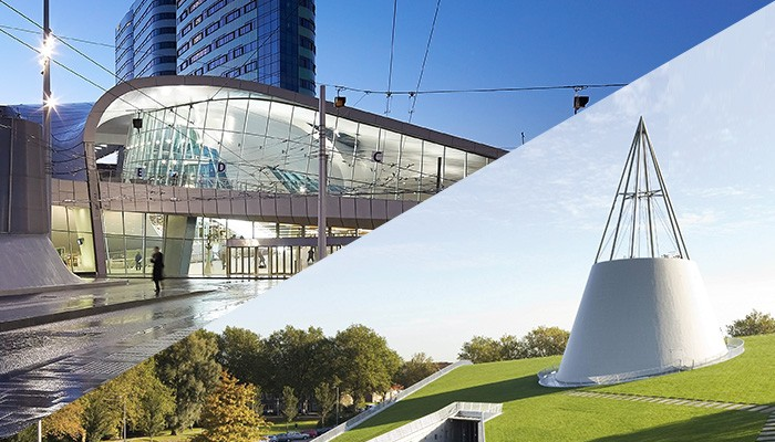 RESITRIX uses - Arnhem Station and green roof